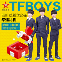 MV diamond blocks TFBOYS limited edition lucky symbols with gift boxes assembled together into the building blocks of plastics toy