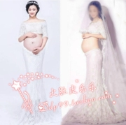 258 new photo studio portrait of pregnant women clothing special belly dress clothes fairy dress rental