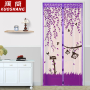 Summer mosquito curtain curtain cloth magnetic Ruansha bedroom kitchen curtain window screen partition high-grade encryption of Salmonella