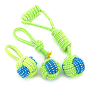 Dog toy dog rope rope knot molar toy ball small dog toy Tactic Bomei puppy golden retriever