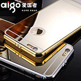 Patriot Apple 6plus mobile phone shell luxury 5.5-inch mirror iphone6 ​​Plus metal frame protection cover