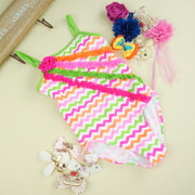 The new girl girl child children swimsuit swimsuit Siamese child Set Princess bikinis students