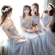 Maid of honor, the new section of the spring of 2017 new Korean style Bridesmaid Dress Bridesmaid Dress up the evening dress