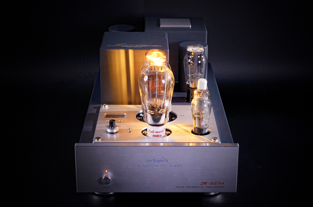 Line Magnetic Magneto LM-503PA Mono Channel Power Tube Amplifier Amplifier