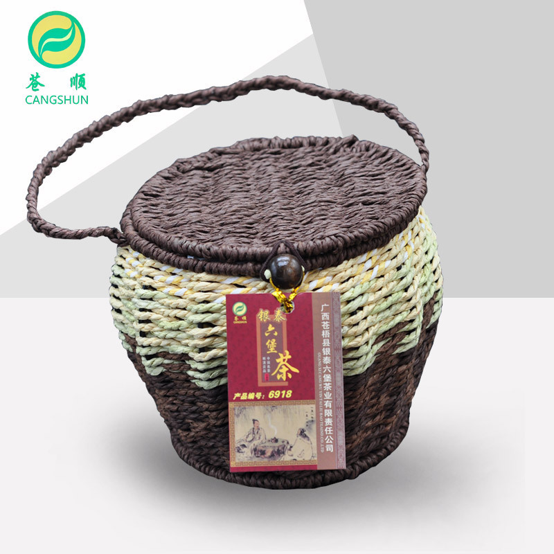 [Gold Award Eight Years] Cang Shun Liubao Tea 2008 Guangxi Black Tea 250g Luzhou Liubao Tea Old Year Tea Ceremony