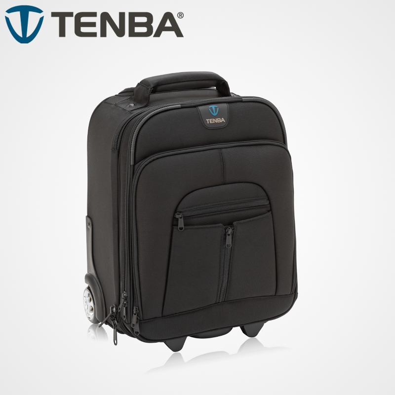 Buy tenba camera bags, TENBA Tianba Touareg 2 series Roadie2 small roller box telephoto lens package professional photography trolley case