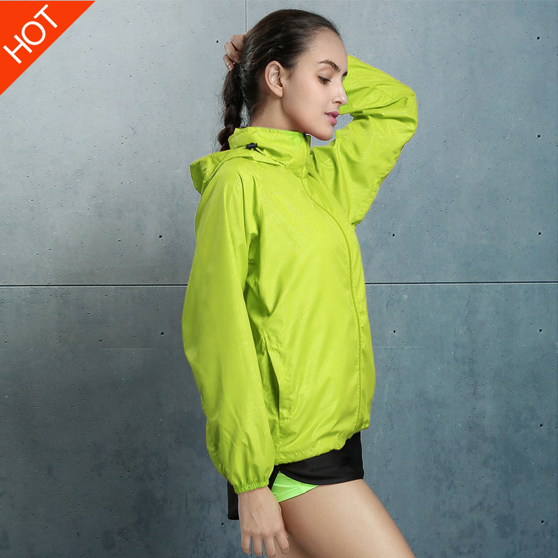Outdoor authentic waterproof UV skin clothing spring female male couple models XL breathable ultra-thin sunscreen clothes