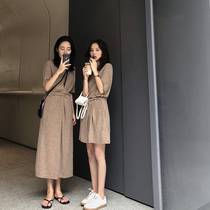 FFAN general recommendation this season! Into the store collection super wear wear skin smooth length long knit dress
