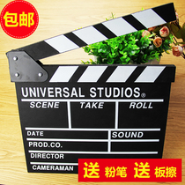 Wooden film slap board Board of directors of the film shooting props studio photographic aids props