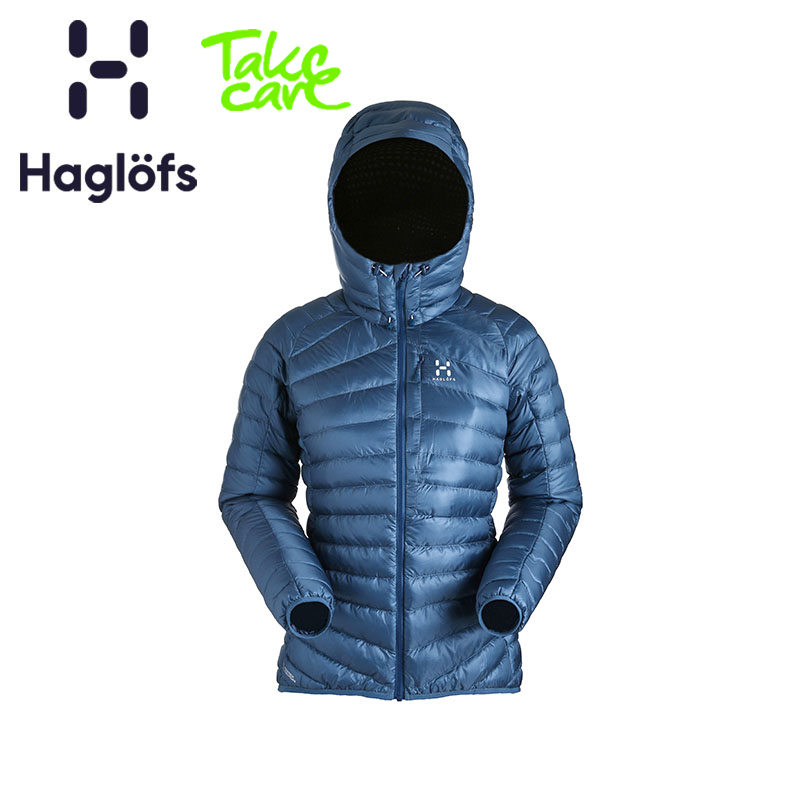 Haglofs matchstick down jacket for women warm outdoor wind-proof down jacket for mountain climbing 603066
