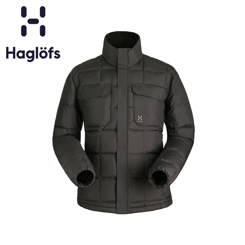 Haglofs Match Stick Men's Outdoor Down Garment Warm, Water-proof Down Garment Wind-proof and Breathable 602729