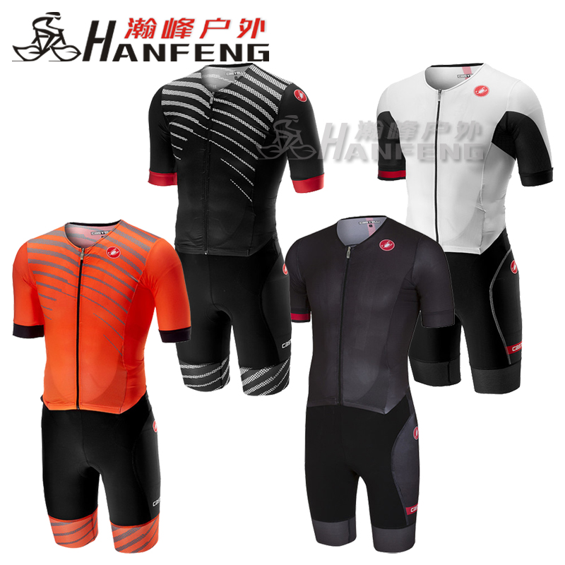 Genuine 19 Scorpion Castelli FREE SANREMO Triple Clothing for Spring, Summer and Autumn