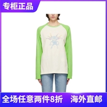 Official website we11done 21ps early spring welldone little monster sweater color long sleeve T-shirt