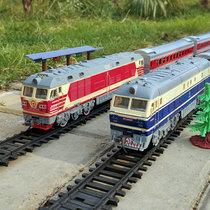 Fengfa Dongfeng super longue simulation électrique piste vapeur haute vitesse rail vert cuir petit train modèle enfants garçons et filles jouets