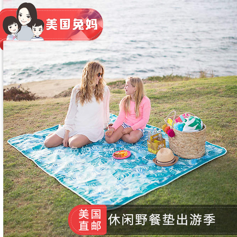 Rabbit mom! LightTour outdoor moistureproof picnic mat picnic portable picnic cloth