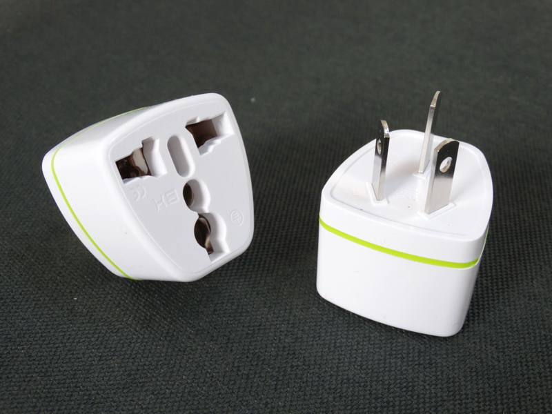 Universal adapters for travel GB 3 plug universal sockets with high quality nickel-plated copper