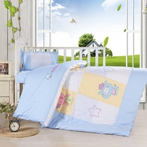 Nursery quilt three sets of core group quilt all cotton fall winter set of seven nursery bedding
