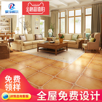 Rover Weil American style tiles, antique tiles, retro pastoral restaurant, all ceramic antiskid and wear-resistant floor tiles set