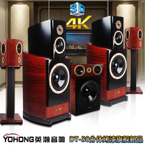 YOHONG/INHAN DT-30 Wooden Dipole Set Around 5.1 Home Cinema Fever Living Room Audio Box