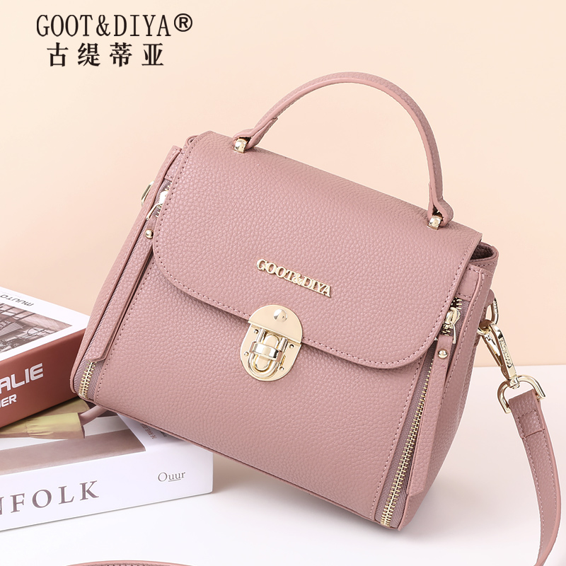 Crossbody bag small bag female 2018 new fashion shoulder bag female large capacity handbag wild female bag diagonal package