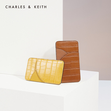 Charles & keith2020 Spring & summer new product ck6-51200005 women's simple mini card bag wallet