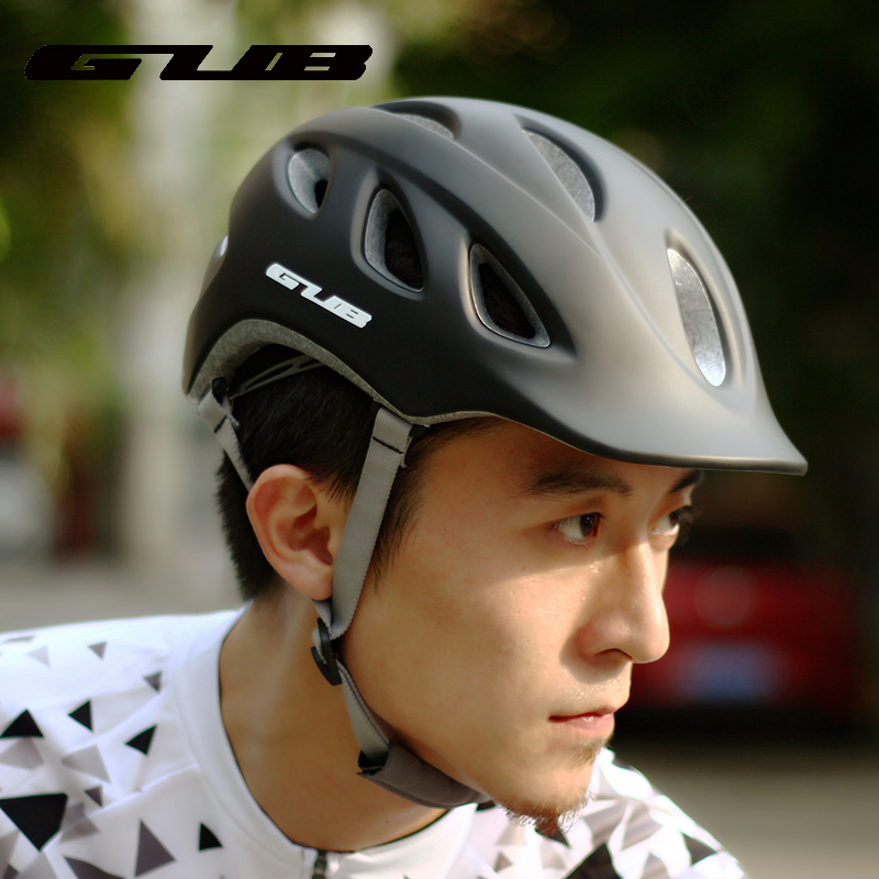 GUB city mountain bike riding helmet bicycle hat men's balance car ultralight helmet cycling equipment female