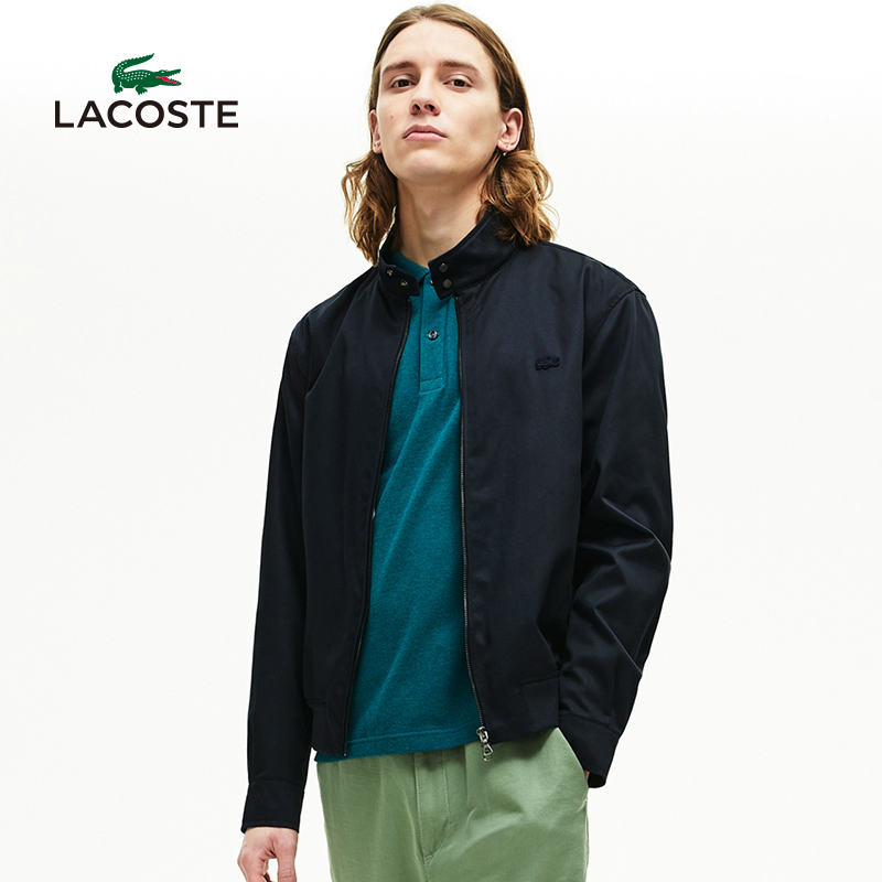 Lacoste French crocodile men's wear 20 spring and summer new fashion collar cotton jacket coat men's bh5314n1
