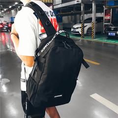 Мужская Сумка рюкзак путешествия двойной плечо