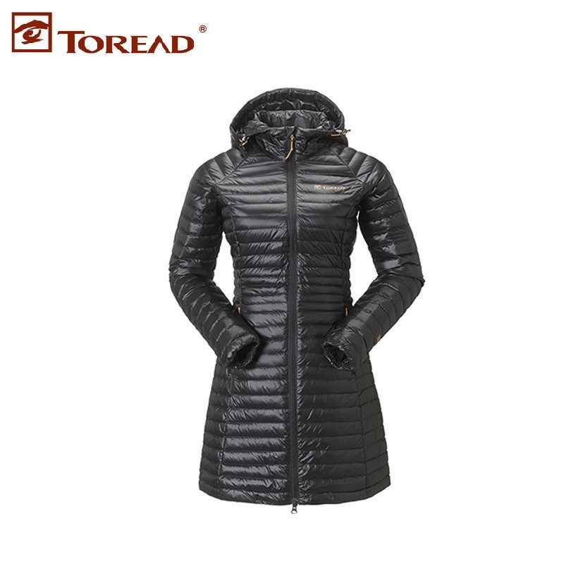 Pathfinder's Autumn and Winter Female Outdoor Lightweight Warm and Wind-proof Down Garment TADC92164