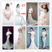 The new Korean clothing studio portrait of pregnant women pregnant women theme photography art photography fashion clothes clothing