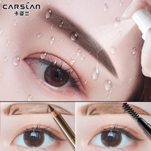 Carslan eyebrow pencil waterproof, sweat resistant, non staining, natural long lasting eyebrow, beginners, water mist, pencil shark, red genuine product.