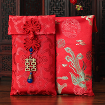FEI to marry ten million yuan red bag personalized wedding creative wedding cloth Yi Li is a red bag gift package