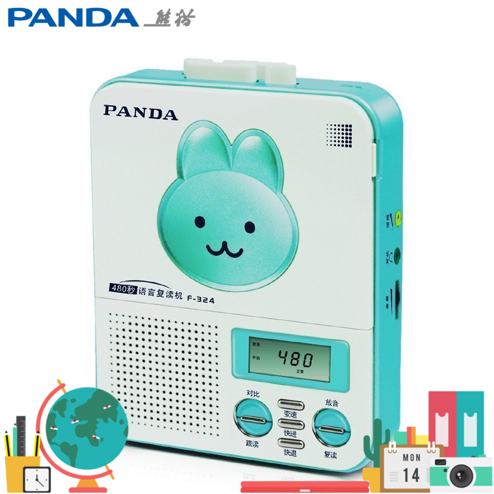 Panda F-324 repeater English learning tape player