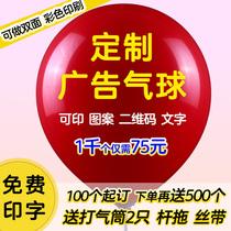 Publicité ballon personnalisation logo impression motif personnalisation impression QR code maternelle ballon personnalisation décoration lettrage