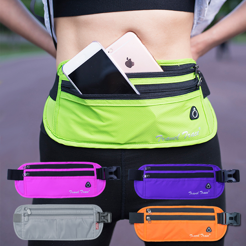 Running Sports Wallet for Men and Women Anti-theft, Invisible, Waterproof, Close-to-body Mini Passport Multifunctional Mobile Bag