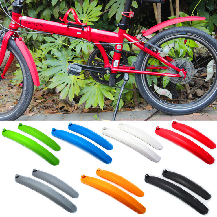 Bicycle mud tile folding car mud except 14 inch / 16 / 20 inch quick release fender BMX fender