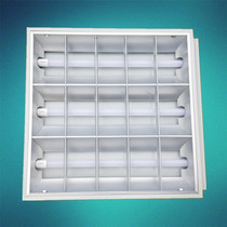 T8LED grid lamp 600x600 office mall lamp gypsum board mineral wool board ceiling embedded lamp panel
