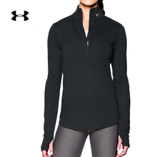 Andema's official UA woman Threadborne long-sleeved T-shirt for running - 1271525