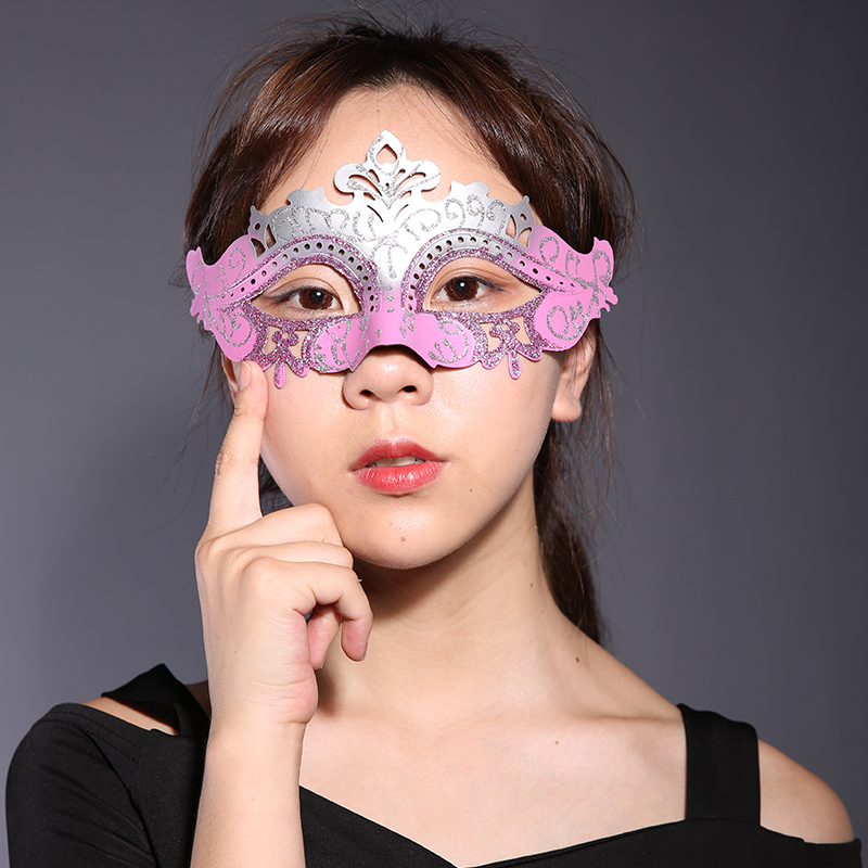 Cosplay,Halloween Mask for girl,Halloween Masquerade Mask Venice Half Face Party Party Masks Male and Female Princess Adult Mask