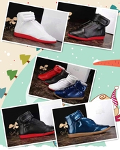 2017 new models of various colors, high shoes, stars, casual shoes, MMM Martin 3M men's shoes, high shoes.