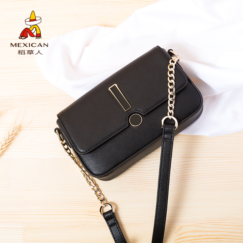 Scarecrow handbags shoulder Messenger bag 2018 new fairy small fresh mini diagonal ladies small bag on the new