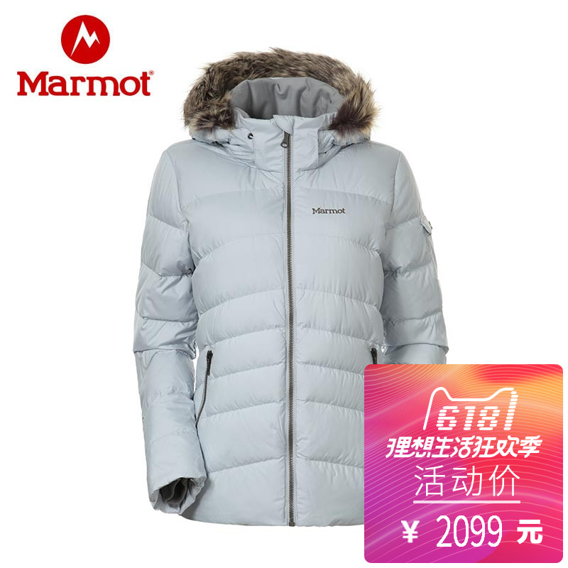 Marmot / Groundhog 2017 autumn and winter new 700 Peng water-proof warm casual female down jacket J78840 Marmot / Groundhog 2017 autumn and winter new 700 Peng water-proof warm casual female down jacket J78840