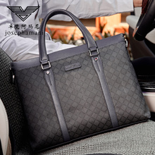 Zhuofani men's bag handbag men's briefcase business leisure men's bag Single Shoulder Messenger Bag