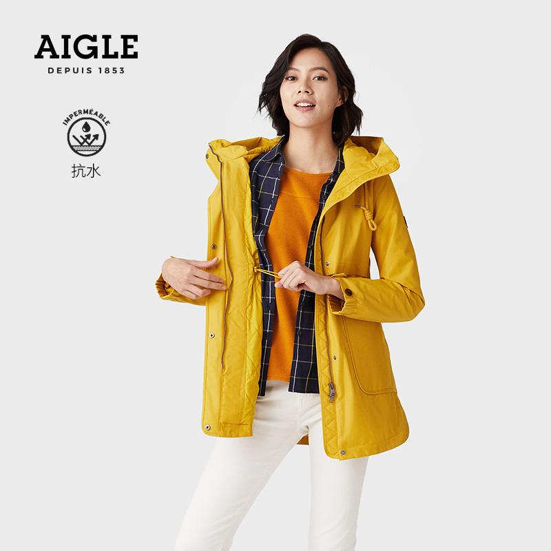 AIGLE AI HIGH FUNNY PAD F20 womens waterproof air-permeable steam warm cotton clothing
