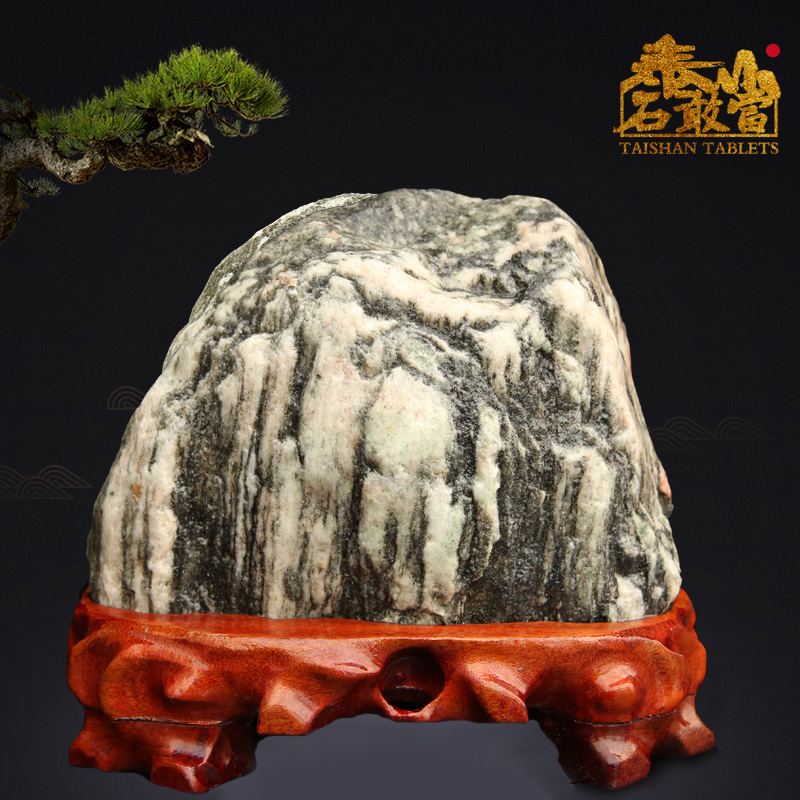 Taishan Stone dares to use natural geomancy stone pieces to ward off evil spirits and make up the corner of outdoor houses to attract money.
