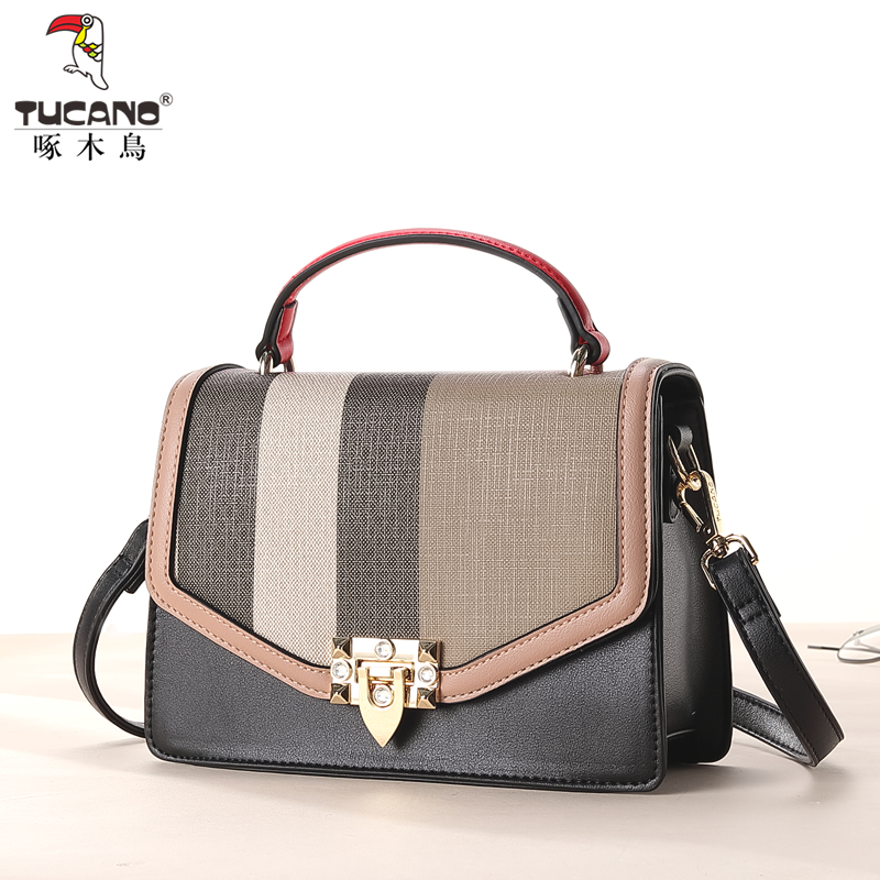 e614510553 Woodpecker handbag 2018 new shoulder bag fashion shoulder bag large  capacity handbag Messenger bag tide ladies