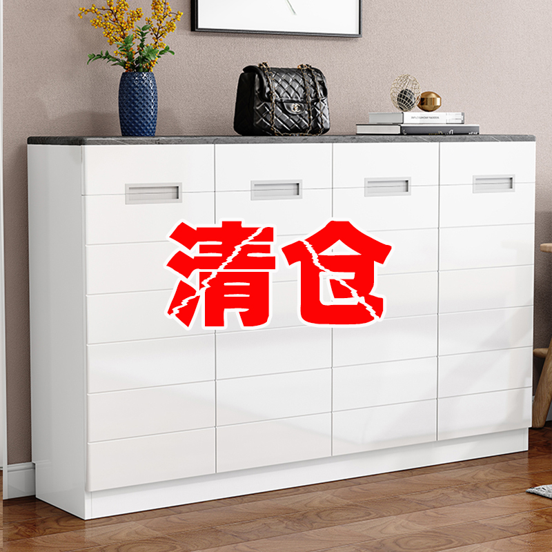 Shoe cabinet home door large-capacity living room entrance entrance Xuanguan collection cabinet simple modern space breathable shoe cabinet