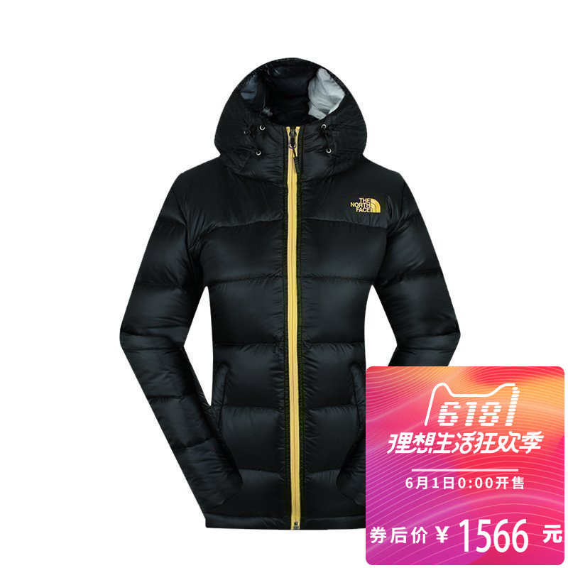 2017 autumn and winter TheNorthFace north face down jacket female 800 Peng anti-tear can pack NF00CTV8