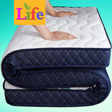 10 cm thick latex mattress cushion double Simmons mattress single tatami hard student dormitory
