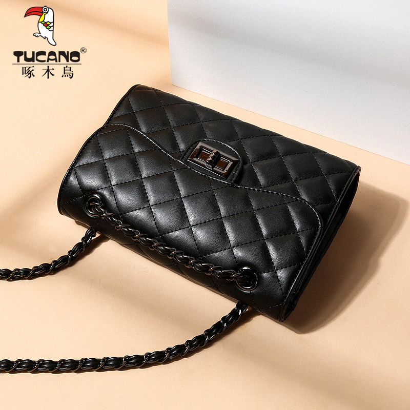 Woodpecker Girl Bag 2019 New Ling Chain Small Fragrance Korean Fashion Single Shoulder Slant Bag Bag